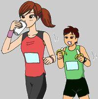 BeFunky_フルマラソン給水